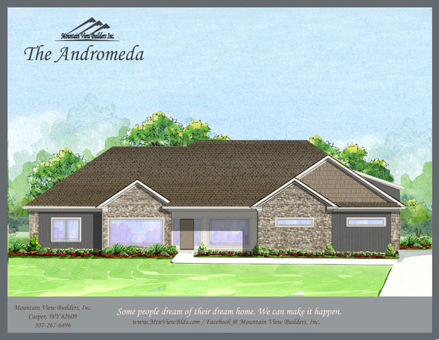The Andromeda by Mountain View Builders of Casper Wyoming