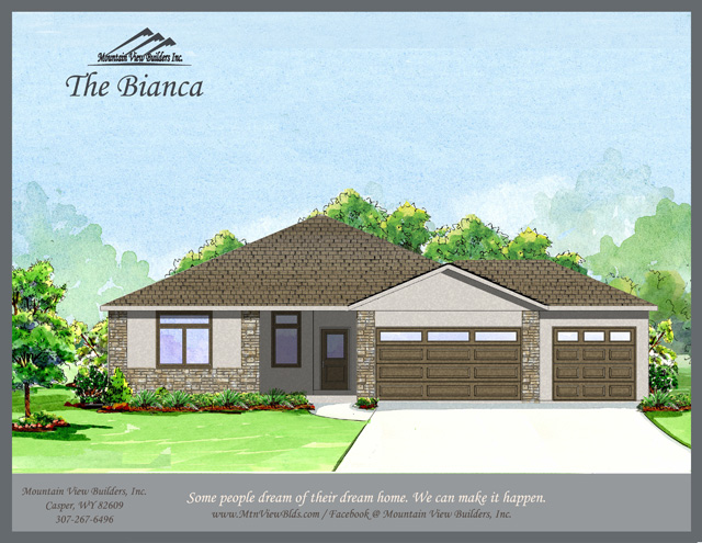 The Bianca by Mountain View Builders