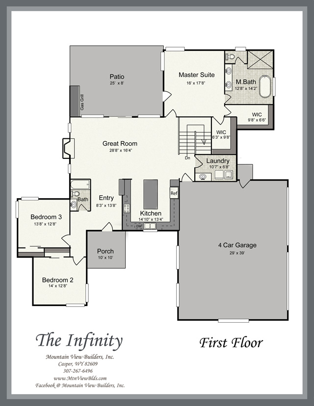 The Infinity by Mountain View Builders of Casper Wyoming