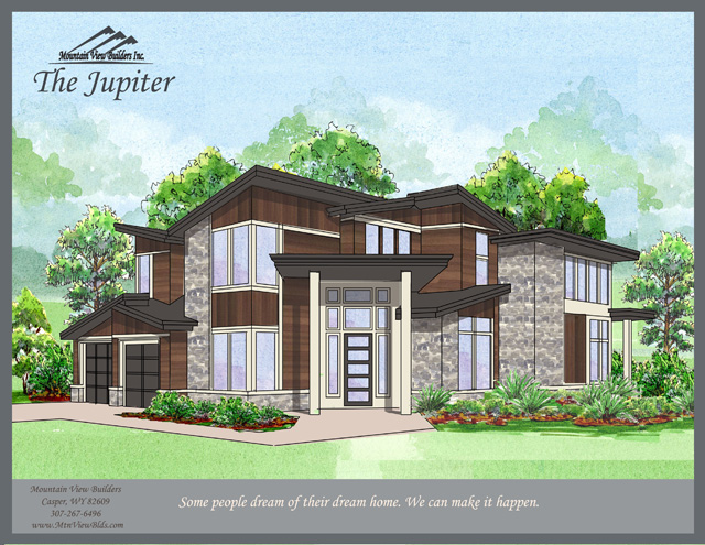 The Jupiter by Mountain View Builders of Casper Wyoming