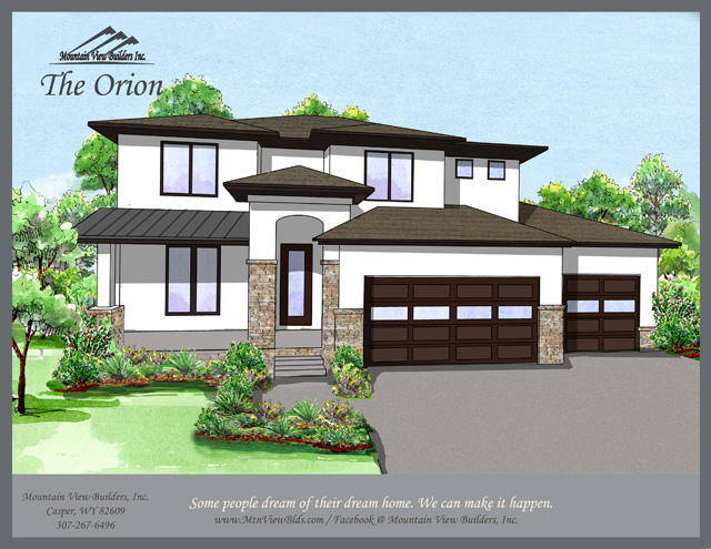 The Orion by Mountain View Builders of Casper Wyoming