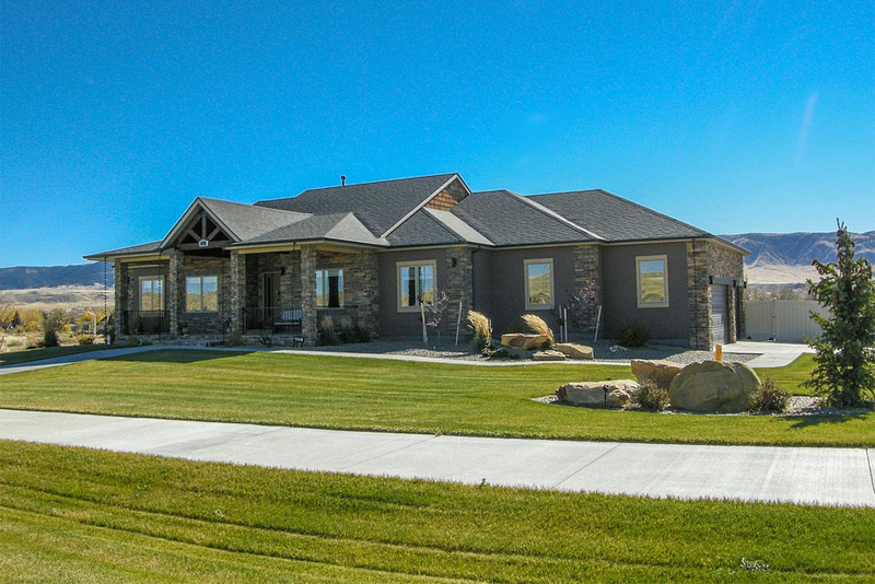 The Rivers Gate by Mountain View Builders of Casper Wyoming